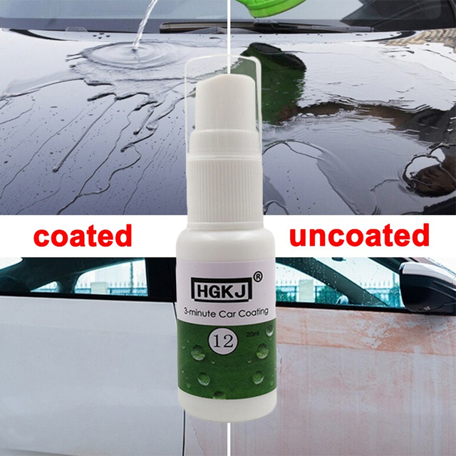 New HGKJ-12 20ML Care Car Care Repair Agent Hydrophobic Coating Waterproof Coating Clean Glass Scratch Remover Car Cleaning 1