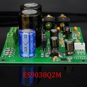 Image 2 - ES9028Q2M ES9038Q2M DACสำหรับHifiเครื่องขยายเสียงถอดรหัสXLR Out I2SอินพุตรองรับI2S 32bit 192K DSD64 128 256