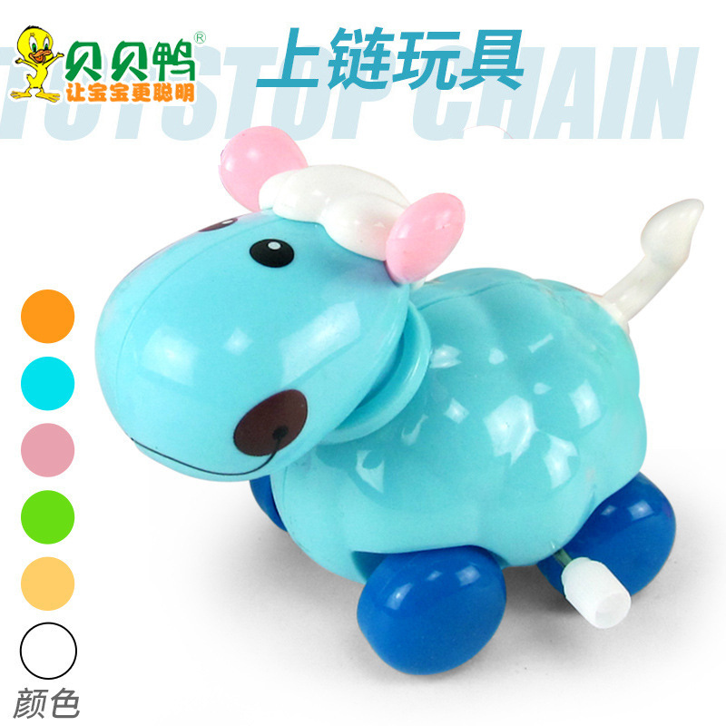 Winding Toy Lamb Spring Small Sheep CHILDREN'S Toy 10 Yuan