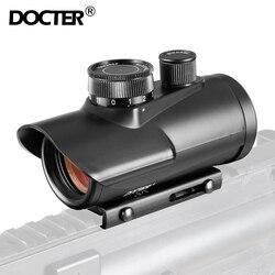 Red dot sight scope holográfico 1x30 11mm & 20mm tecelão montagem em trilho para caça tática óptica 5-0040