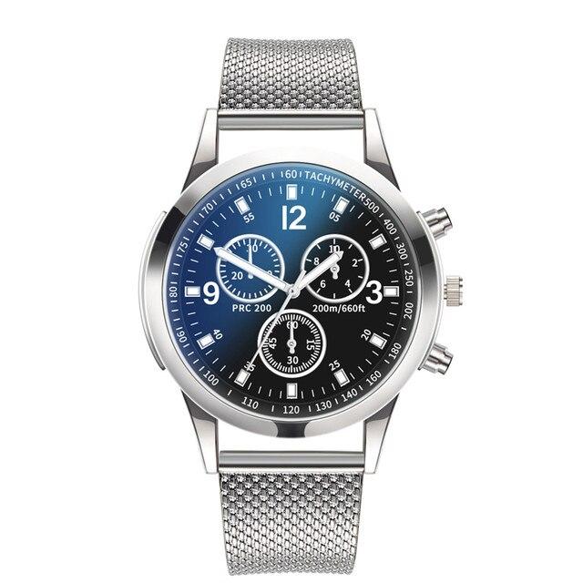 2019 Men women Watches Fashion & Casual luxury brand gold silver black Quartz Watch Stainless Steel Dial Bracele Watch Y10.17 3