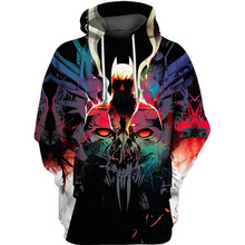 PLstar Cosmos dc comics Soul Gotham Batman 3d hoodies/shirt/Sweatshirt Winter long sleeve Pullover Fashion Harajuku streetwear