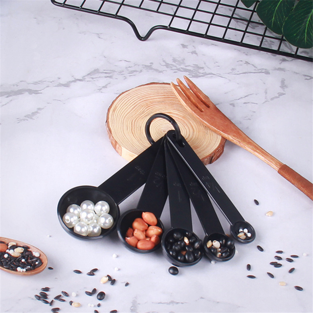 5pcs/10pcs Kitchen Accessories Tools Measuring Spoons and Cups Coffee Sugar Cake Baking Scoop Cooking Tools Kitchen Gadgets