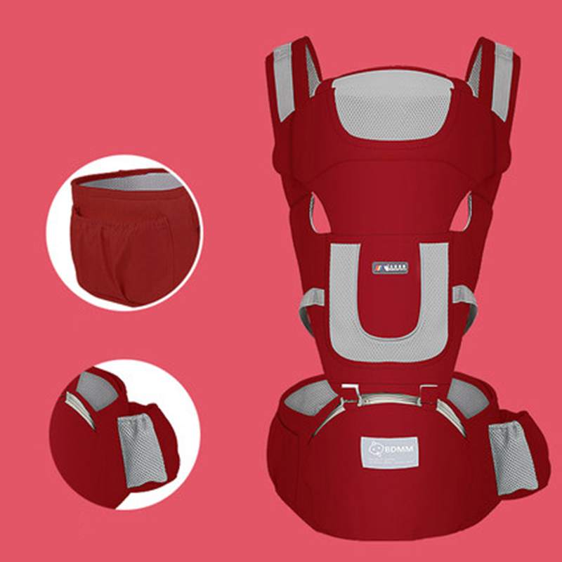 MissAbigale Ergonomic NewBorn Baby Carrier Infant Kids Backpack Hipseat Sling Front Facing Kangaroo Baby Wrap for Baby Travel