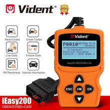 Vident ieasy200 completa obdii/eobd ferramenta de diagnóstico pode leitor código ieasy 200