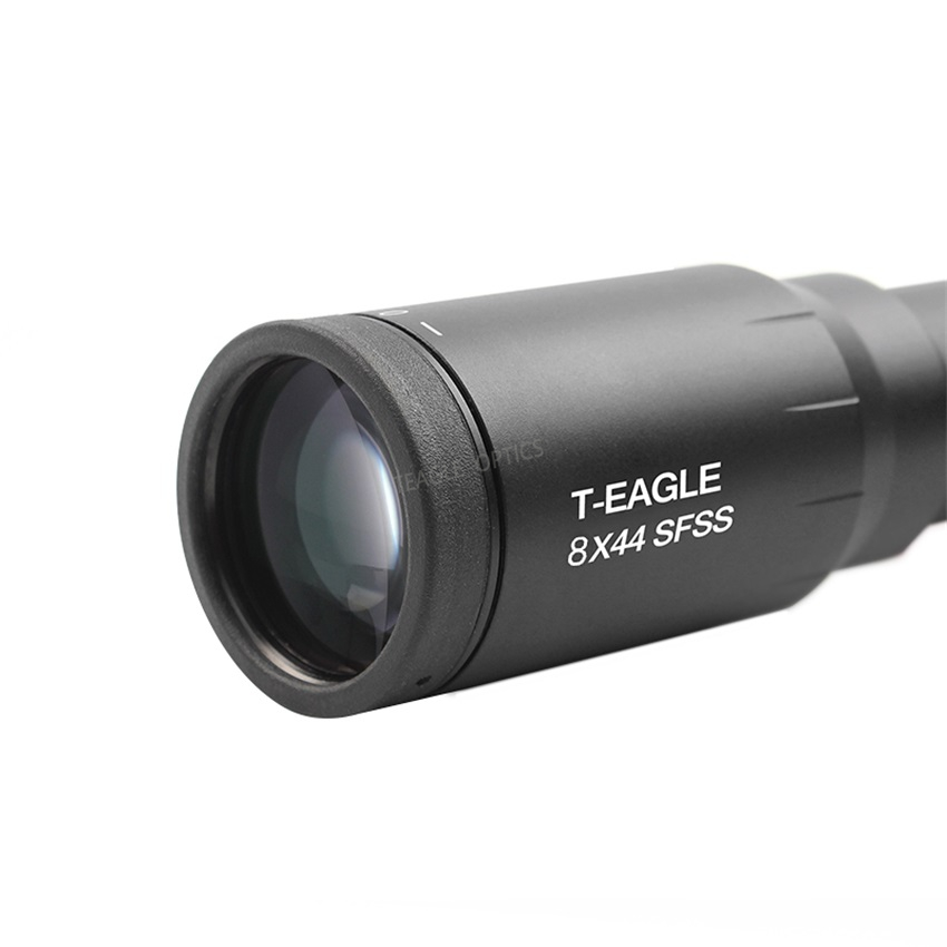 Tactical TEAGLE SR 8X44SF Long Range Rifles Scope Air Rifle Optics Red Dot Illuminated Riflescope For PCP Shooting Hunting in Riflescopes from Sports Entertainment