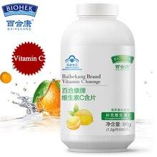 Витамин С жевательная таблетка 1200 мг добавки для отбеливания кожи
