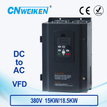 WK310 Vector Control frequency converter DC 400V-700V to 380V 15kw18.5kw solar pump inverter with MPPT control
