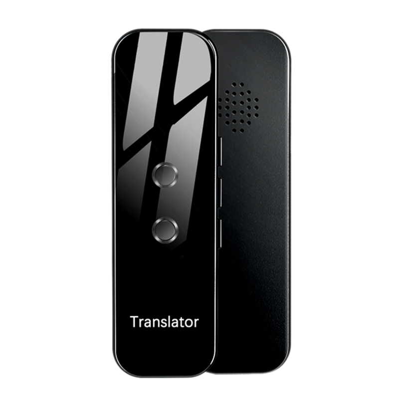 New Portable Wireless Smart Translator 72 Languages Instant Voice Text APP Photograph Bluetooth Language Translator image
