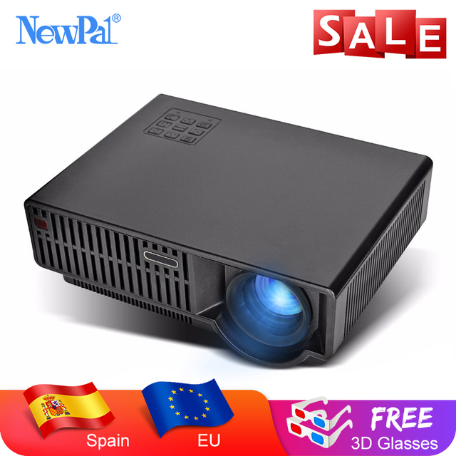 CLEARANCE SALE Android Projector 3D Full HD WiFi 4K Overhead Projector LED 3500Lumen Video Beamer with free 3D Glasses LED96