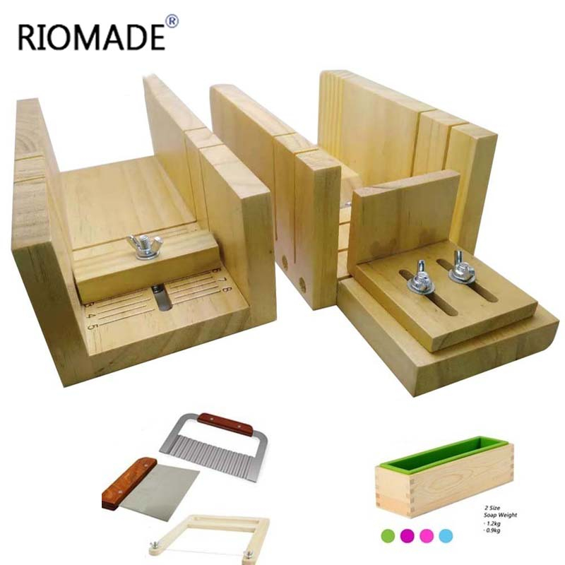 Wooden Soap Cutter Box Handmade Loaf Cutting Tools Multifunctional Soap Cutter Beveler Planer Making Tools Diy Mold