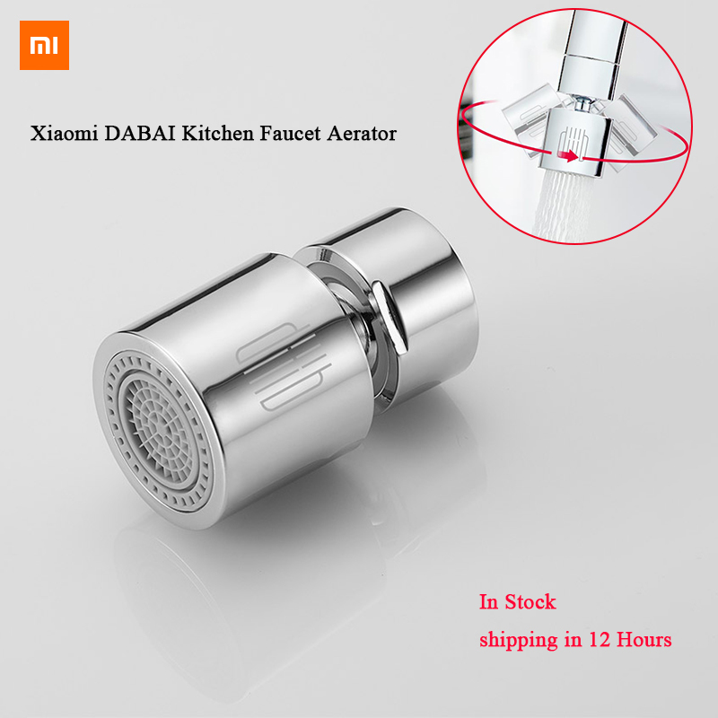 Xiaomi DABAI Kitchen Faucet Aerator Water Diffuser Bubbler Zinc Alloy Water Saving Filter Head Nozzle Tap Connector Double Mode6