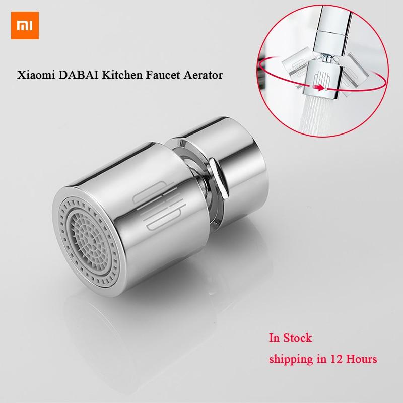 Xiaomi dabai torneira da cozinha aerador de água difusor bubbler liga zinco poupança água filtro cabeça bico conector duplo mode6