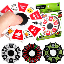 Fidget Spinner Gyro Compass Wine-Turntable Stress Fingertip Adult Top Beer Relief-Toy