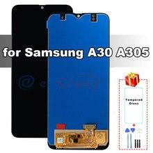 ЖК экран для samsung galaxy a30 a305 Премиум качества a305f