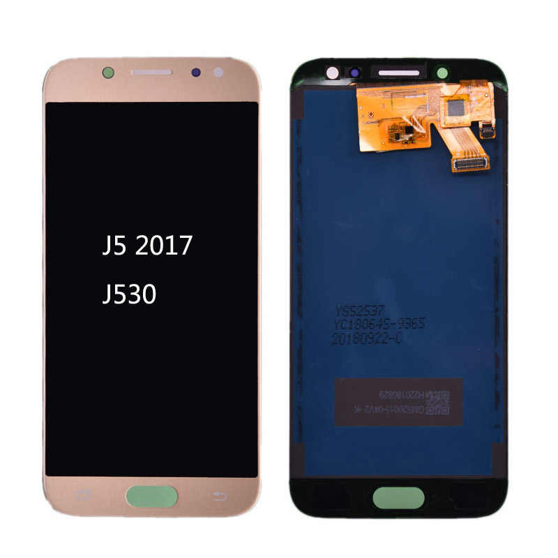 For Samsung Galaxy J5 Pro 2017 J530 J530F LCD Display with Touch Screen Digitizer Assembly J5 2017 J5 Duos LCD free shipping