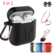 Soft Silicone Case For Airpods For Air Pods Shockproof Earphone Protect Cover Waterproof