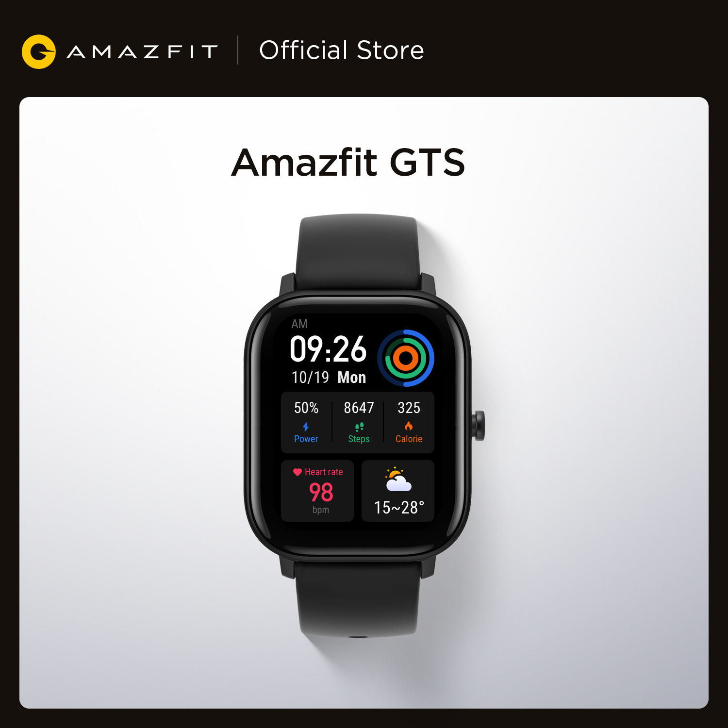 In stock Global Version Amazfit GTS Smart Watch 5ATM in Accra- Ghana 1