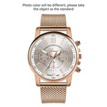 Watch Women'S Watch Women'S Watch Double Face Women'S Watch Silicone Mesh With Silicone Plated Strap canvas strap watch with flower face