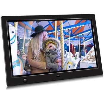 HD 1080P LED Digital Photo Frame 10.1 Inch Movie Player Video Remote Control P666
