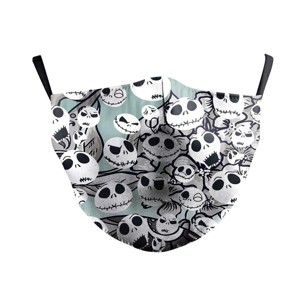 The Nightmare Before Christmas Jack Skellington face Mask Cosplay Adult Masks Props 6