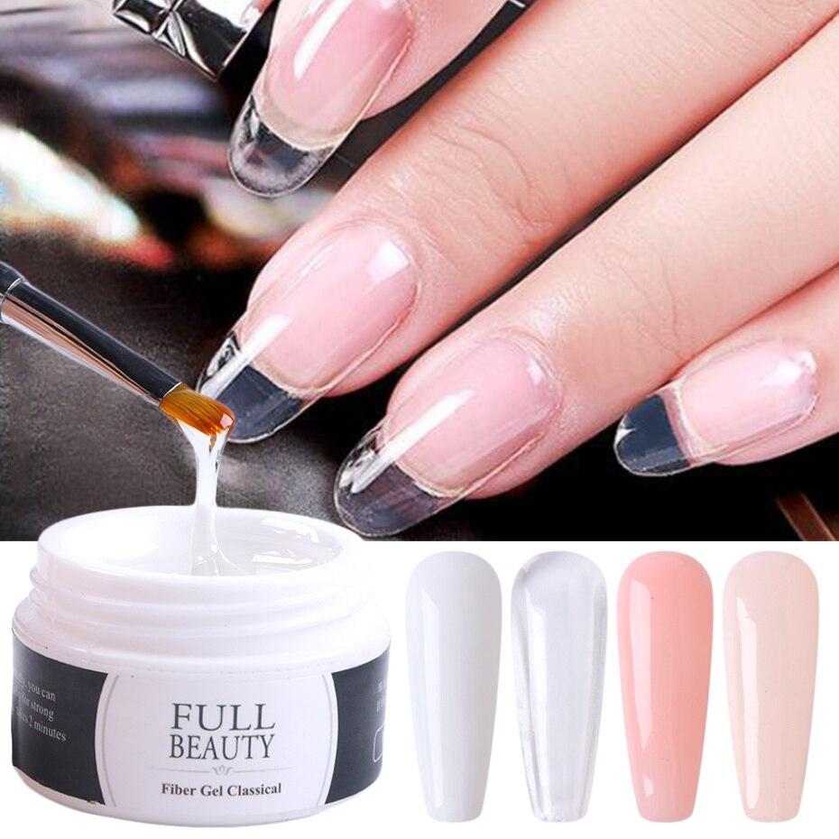 15 мл акриловый лак для наращивания ногтей УФ-гель прозрачный розовый телесный Гель для маникюра для наращивания пальцев французский лак дл...