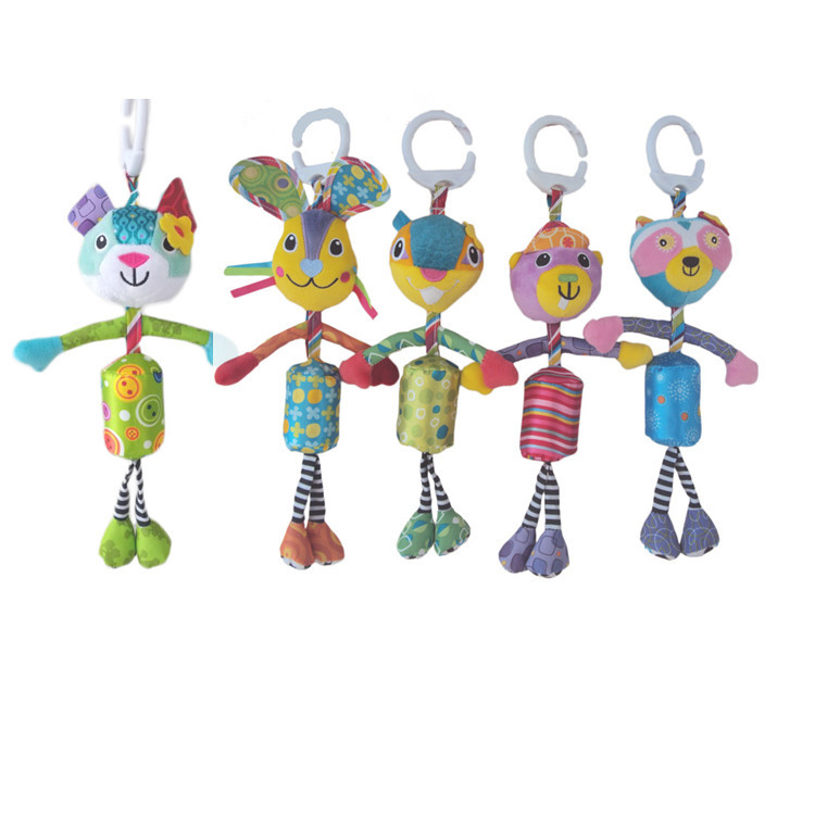 Toys Small Wind Chimes Baby Stroller Pendant Baby Bed Hanging Bedside Rattle Newborns 01-Year-Old Toy