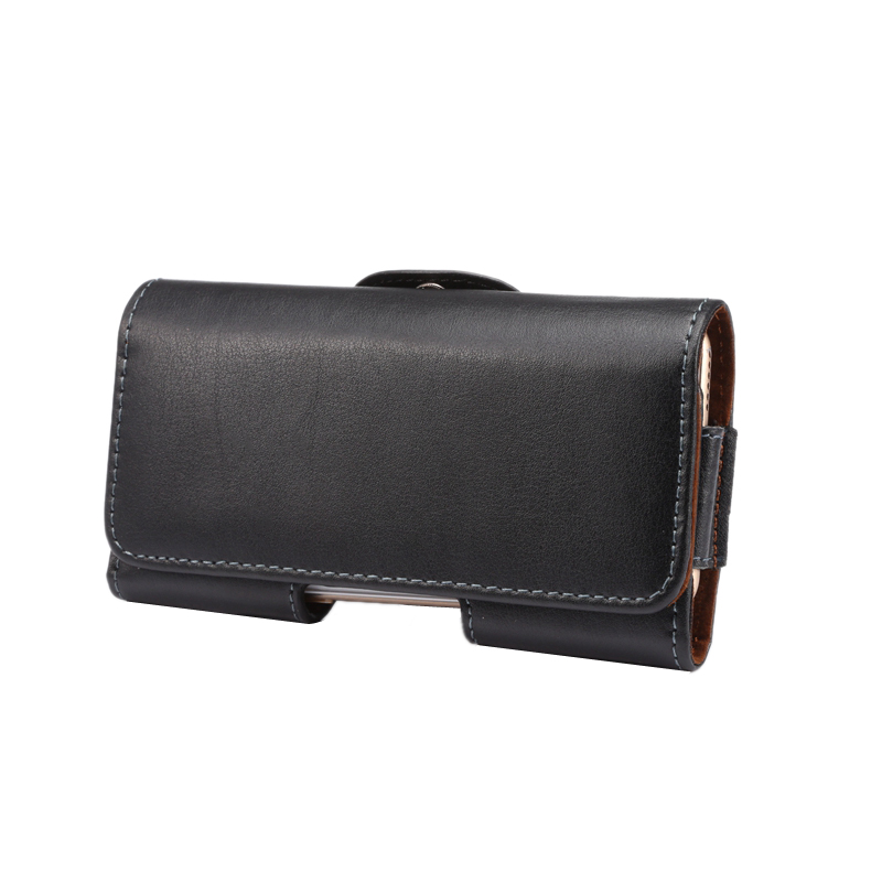 <font><b>Leather</b></font> Holster For <font><b>iPhone</b></font> 4 5 <font><b>5s</b></font> ,<font><b>Genuine</b></font> <font><b>Leather</b></font> Belt <font><b>Case</b></font> with Clip Cell Phone Pouch Belt image