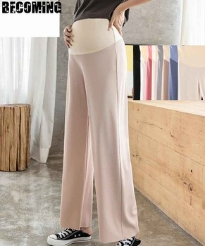 Maternity Pants  Summer Clothes Women Trousers Pregnancy Soft Pant For Cotton