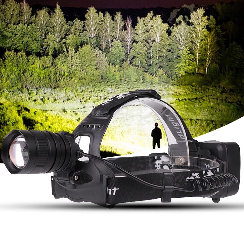 Налобный фонарь налобсветильник лампа вспышка 4200 люмен светодиодные