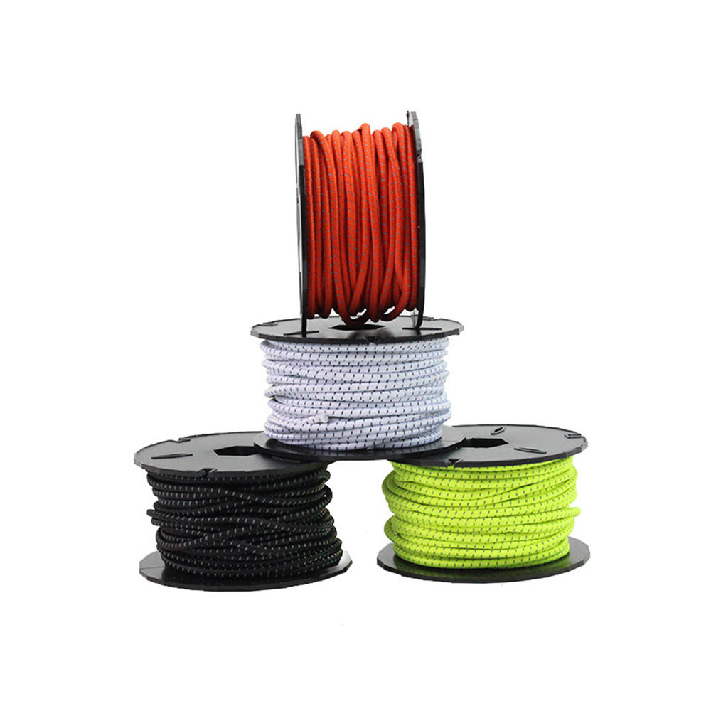 15M Stretch String 3MM Lastic Rope Bungee Cord Shock DIY Jewelry Making Outdoor Project Tent Kayak Boat Bag Belt