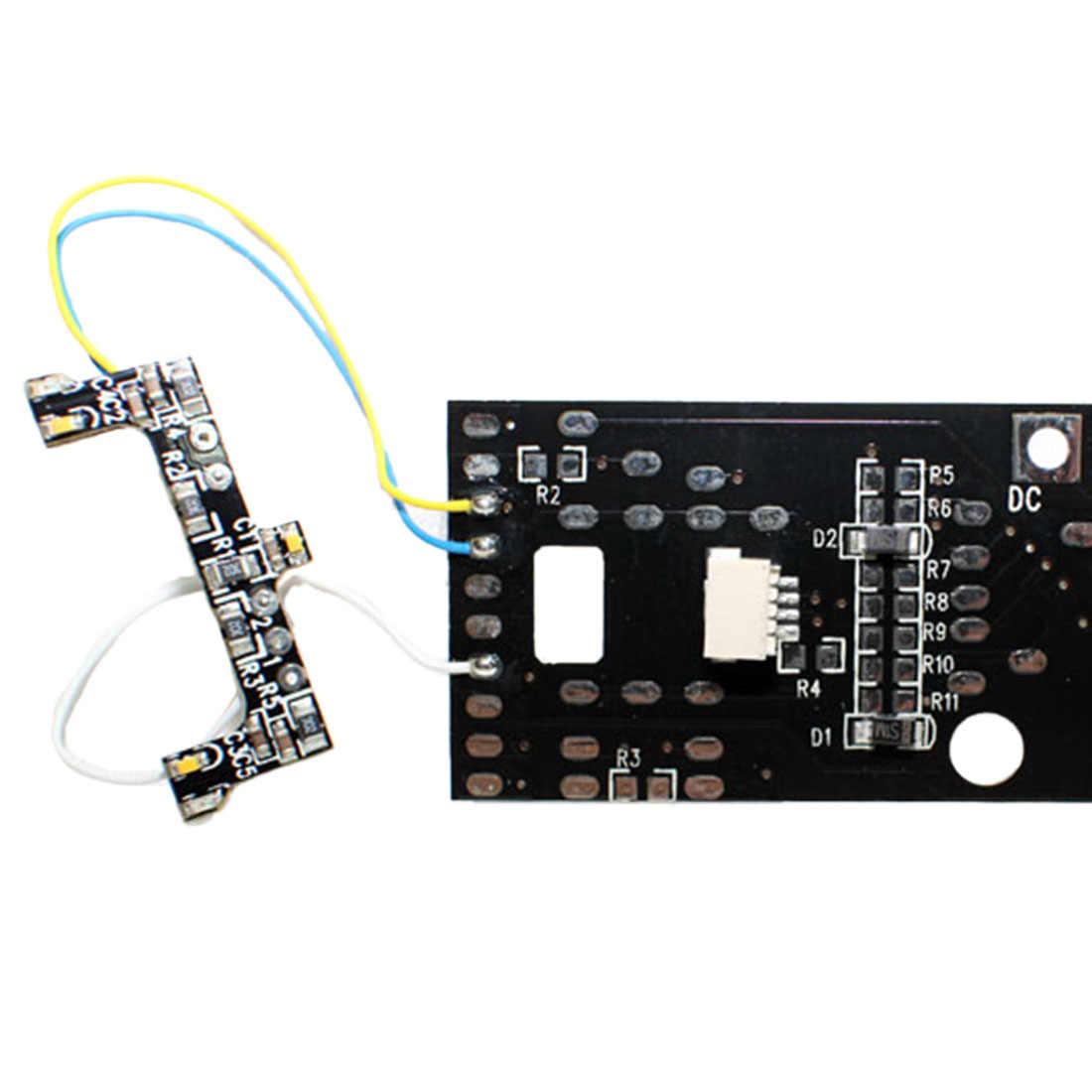 W skali 1: 87 Model PCB płytka drukowana z żarówki światło dźwięk dla piaskownica stołowa
