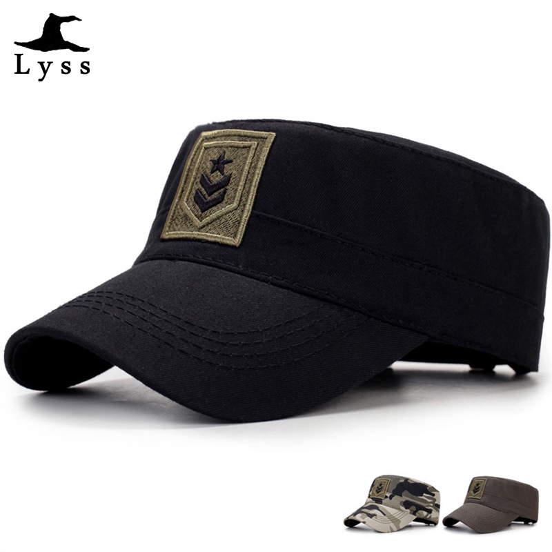 Tactical Military Army Plain Hat Camouflage Baseball Cap Adjustable Visor Hats