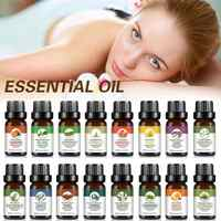 10ml Natural Pure Plant Essential Oil Stress Relieving Air Refreshing Therapeutic Oils Aromatherapy Aroma