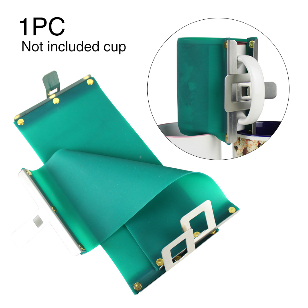 15OZ Durable Portable 3D Sublimation Fixture Accessories Heat Transfer Practical Vacuum Wrap Cup Clamp Silicone For Printing Mug