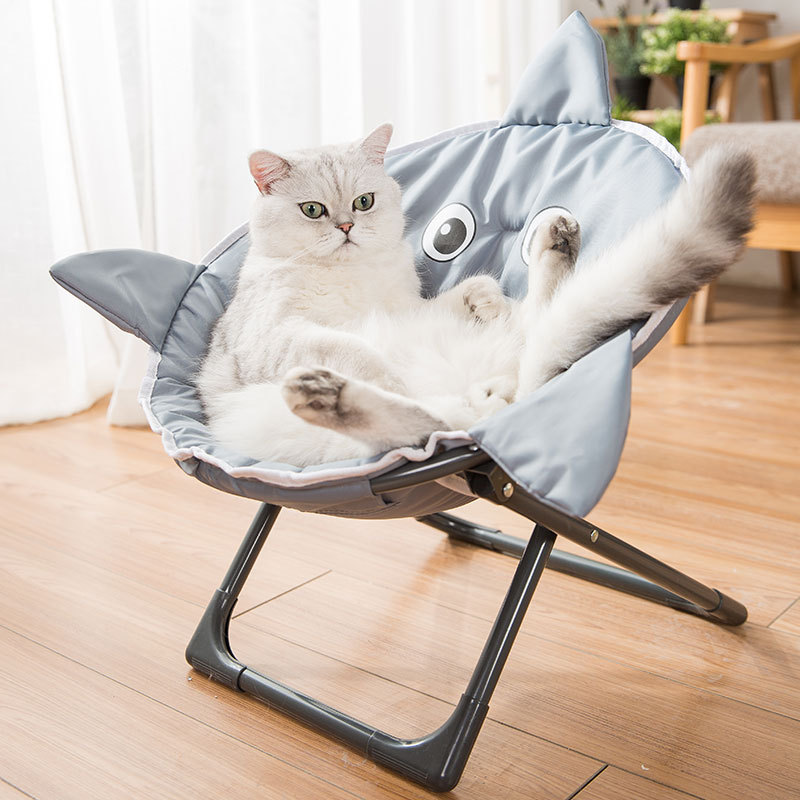 Pet Foldable Moon Nest Four Seasons Universal Cat Nest Cat Hammock Deep Sleep Kennel Foldable Kennel Supplies