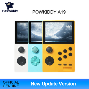 Image 1 - POWKIDDY A19 Pandoras Box Android Supretro Handheld Game Console IPS Screen Built In 3000+Games 30 3D Games WiFi Download