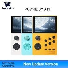 POWKIDDY A19 פנדורה אנדרואיד Supretro כף יד משחק קונסולת IPS מסך מובנה 3000 + משחקים 30 3D משחקי WiFi להוריד