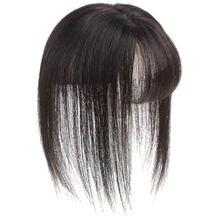 Челка manwei невидимая бесшовная головка из человеческих волос
