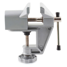 Bench Vise Universal Machine Mini Fixed Repair Tool Aluminium Alloy Table Vice Fixed Jaw Screw Firmly Hand Tools цена