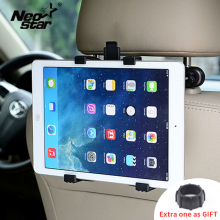 цены Car Back Seat Headrest Mount Holder for iPad 2 3/4 Air 5 Air 6 ipad mini 1/2/3 AIR Tablet SAMSUNG Tablet PC Stands Universal