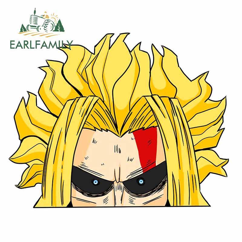 Earlfamily 13Cm X 10.6Cm Voor Mijn Hero Academia Auto Stickers Cool Alle Misschien Anime Karakter Decals Bumper Deur auto Assessoires
