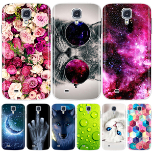 Silicone Case For Samsung Galaxy S4 i9500 Case Cute Pattern Soft TPU Phone Case For Samsung S4 S 4 S IV Back Cover Bumper Coque