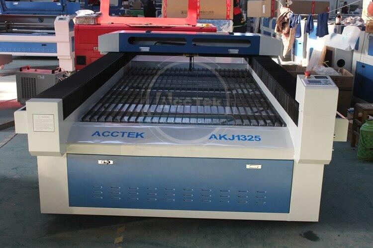 Китай Цзинань AccTek удобный простой в эксплуатации сверхмощная структура режущая кровать стиль cnc лазерная машина AKJ1325