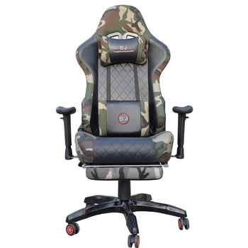 Gaming Racing Chair Computer Chairs with Footrest Computer Chair LOL Internet Cafes Sports Racing Chair WCG Play Gaming Chair