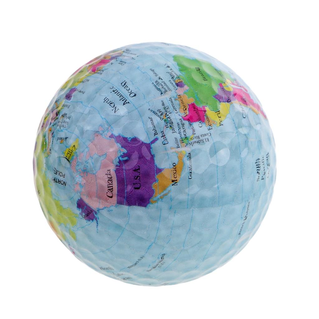 3Pcs Elastic Golf Practice Ball Indoor Outdoor Golf Training Ball 42.6mm