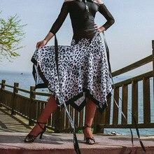 Dance-Skirt Cloth Latin Chacha Samba Practise Tango Performamnce Women LP483 Spot Patchwork-Design