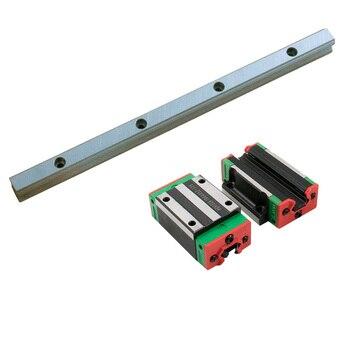 free shipping 2pc EGR20 linear guide rail any length+4pc linear block carriage EGH20CA EGH20SA EGW20CC EGW120SC for cnc Part