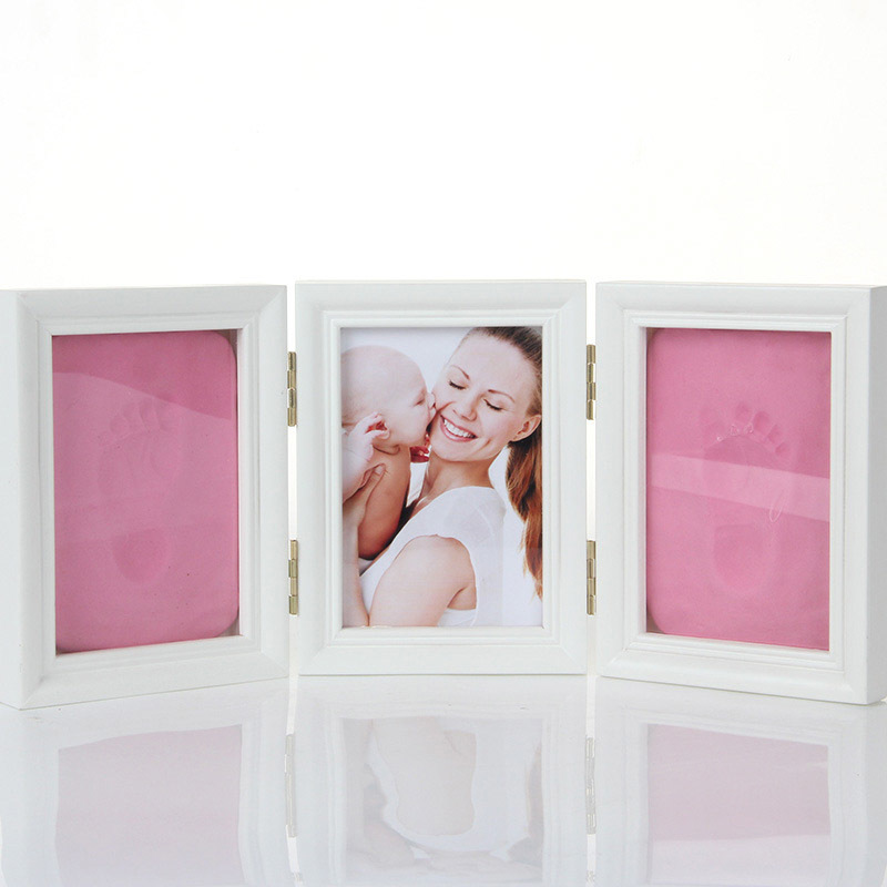 baby-hand-foot-print-hands-feet-mold-maker-baby-photo-frame-with-cover-fingerprint-mud-set-baby-growth-memorial-gift