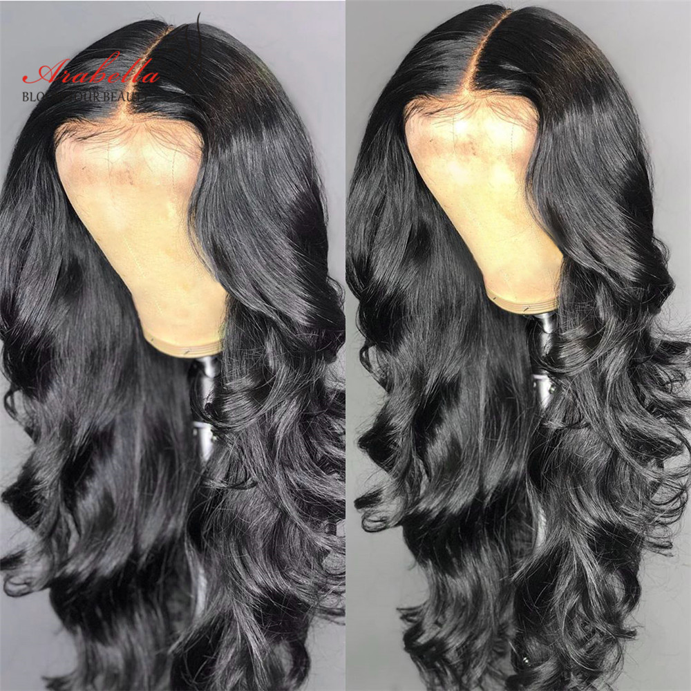 Brazilian Lace Front Wig Body Wave With Baby Hair 13x4 360 Arabella Natural Remy Hair 180